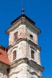 庄园房子的塔 免版税库存照片