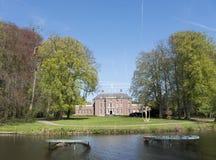 庄园槽孔zeist在乌得勒支附近的荷兰 免版税库存图片