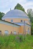 庄园翼Znamenskoye-Rayok (18世纪)在Torzhok区 库存图片