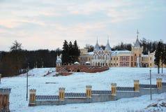 庄园背景Dervizov在Kiritsakh 库存图片