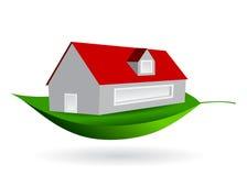 庄园舱内甲板房子实际租金销售额 免版税库存照片