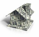 庄园舱内甲板房子实际租金销售额 免版税库存图片