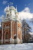 庄园莫斯科公园俄国tsaritsino 库存照片