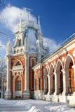 庄园莫斯科公园tsaritsino 库存图片