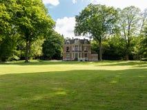 庄园Benthuijs在Baarn,荷兰 免版税库存照片