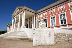 庄园kuskovo博物馆宫殿 免版税库存照片
