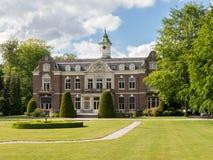 庄园Rusthoek在Baarn,荷兰 免版税库存图片