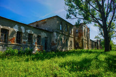 庄园Sviatopolk Mir GiÑ ` vka Lyubotin,乌克兰 免版税库存图片