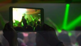 庄稼人记录的惊人的音乐会 股票视频