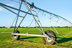 庄稼的灌溉系统 库存照片
