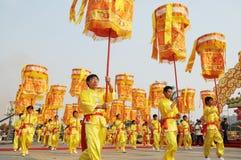 庆祝中国人游行 免版税库存照片