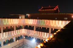 庆祝中国印度kolkata新年度 免版税库存图片