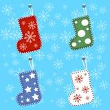 庆祝假日新年和圣诞节 库存图片