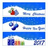 庆祝假日新年和圣诞节 免版税库存图片