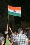 庆祝决赛icc印度s赢取世界 图库摄影