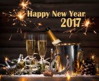 庆祝前夕新年度 免版税库存照片