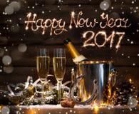 庆祝前夕新年度 库存图片