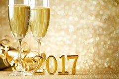 庆祝前夕新年度 免版税库存图片