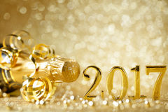 庆祝前夕新年度 免版税图库摄影