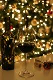 庆祝圣诞晚会xmas 免版税库存照片