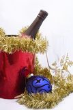 庆祝圣诞节新年度 库存照片