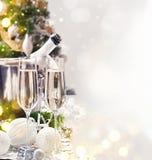 庆祝圣诞节新年度 免版税库存照片