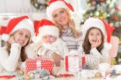 庆祝圣诞节的系列 库存照片