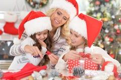 庆祝圣诞节的系列 库存图片