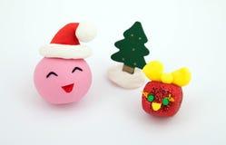 庆祝圣诞节节假日玩具 免版税库存图片