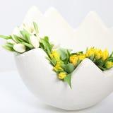 在春天庆祝复活节 免版税库存图片