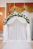 庆祝大厅婚礼 免版税库存图片