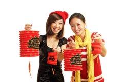 庆祝女孩宴餐  免版税图库摄影