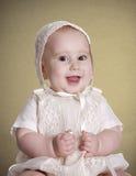 庆祝她的洗礼仪式 免版税库存图片