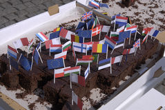 庆祝日丹麦欧洲 免版税库存图片