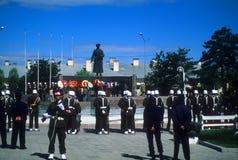 庆祝日卫兵荣誉称号独立军事土耳其 库存照片