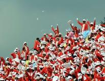 庆祝日独立马来西亚 免版税库存照片