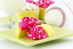 庆祝杯形蛋糕比赛 库存照片