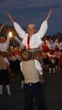 庆祝爱沙尼亚节日歌曲塔林 库存图片
