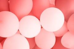 庆祝的五颜六色的气球背景 免版税库存照片