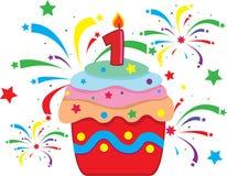 庆祝的蛋糕 免版税库存照片