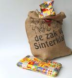 庆祝荷兰语sinterklaas 免版税库存照片