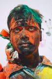 庆祝holi印度 库存照片