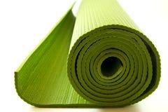 床垫瑜伽 免版税库存照片