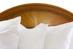 床头板枕头 免版税库存照片