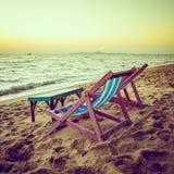 床海滩 图库摄影