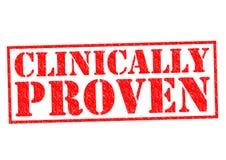 临床证明 向量例证