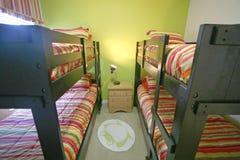 床铺卧室 库存照片