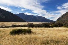库克山国家公园 免版税库存图片