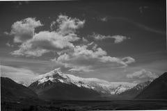 库克山新西兰 库存图片
