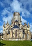 库唐塞大教堂,法国 免版税库存照片